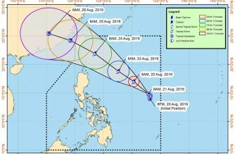"""TD """"Ineng"""" maintains strength as it moves in northwest direction"""