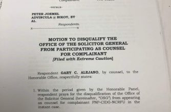 Alejano to DOJ panel: Stop OSG from representing CIDG in preliminary probe of sedition raps vs me, others