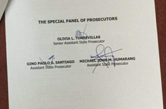 Motions of De Lima, others to remove OSG as counsel for CIDG in sedition raps junked