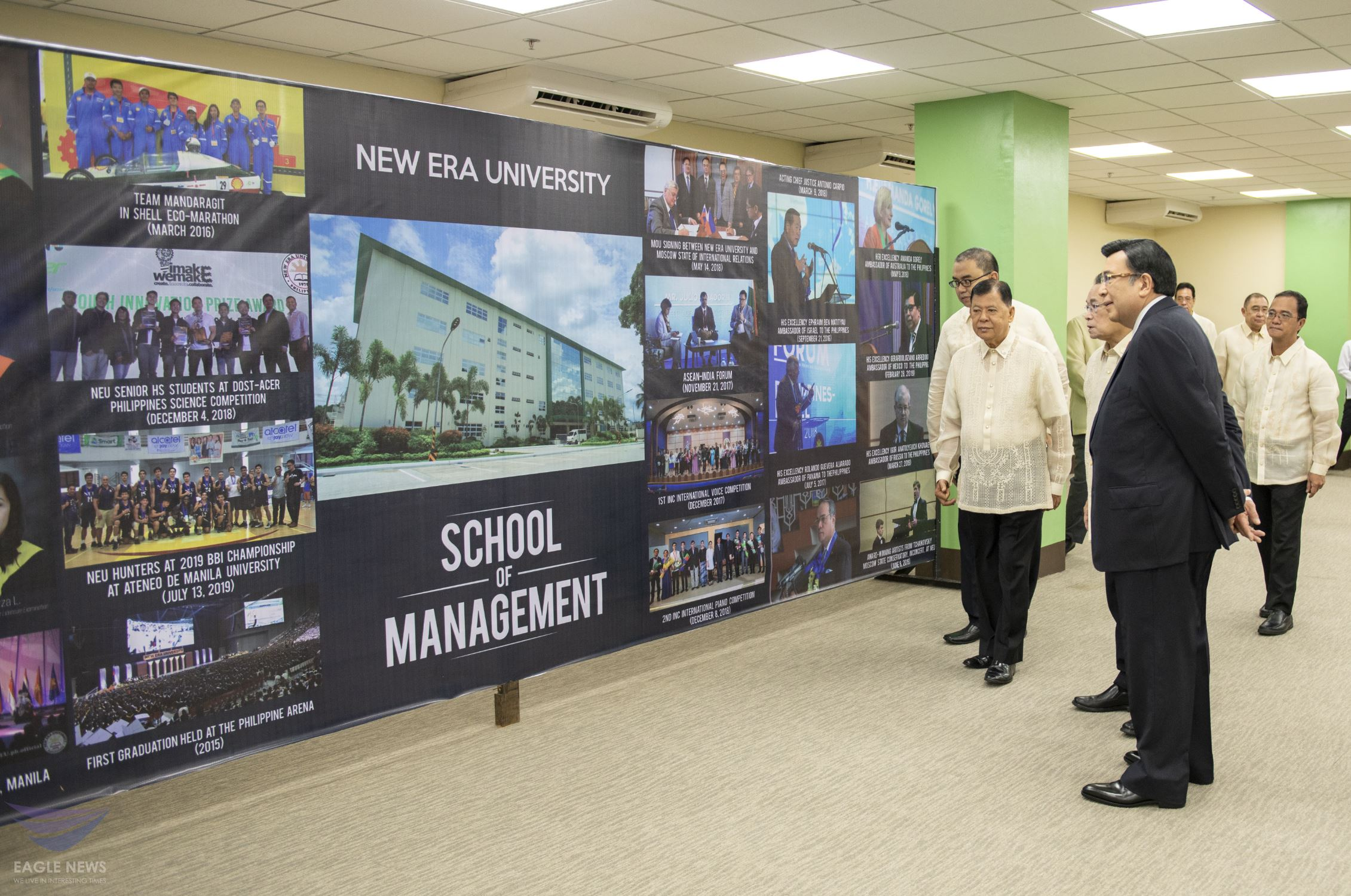 New Era University inaugurates School of Management building as