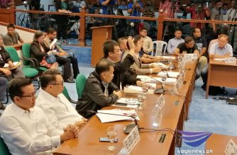 The Senate committee on public services on Tuesday, Aug. 13, held a hearing on the provincial bus ban and the Edsa gridlock that led to congestion on the major thoroughfare last week. /Meanne Corvera/Eagle News/