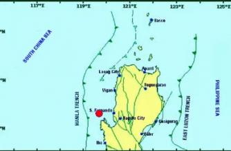 3.5-magnitude quake hits Pangasinan