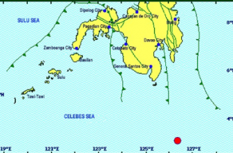 4.3-magnitude quake hits Davao Occidental