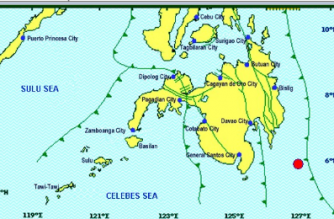 JUST IN: 4.0-magnitude quake strikes off Davao Oriental