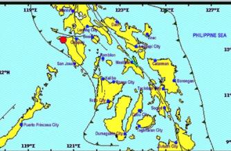 3.0-magnitude quake hits Occidental Mindoro