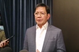 "Senator Panfilo Lacson has filed a bill that proposes to extend the line of succession in the Constitution, and proposes the designation of a ""survivor"" in events attended by all those in the existing and proposed line of succession./Meanne Corvera/Eagle News/"
