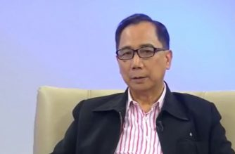 Dr. William Dar, former Director General of ICRISAT or the International Crops Research Institute for the Semi-Arid Tropics, was named as the new Department of Agriculture Secretary by President Rodirgo Duterte.  (Eagle News Service/Photo grabbed from ASEAN in Focus program of Eagle Broadcasting Corporation)
