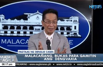 Palace to study if Dengvaxia can be used for those who already had dengue to stop spike in cases