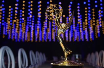 This photo shows an Emmy statuette at the 70th Emmy Awards Governors Ball press preview at LA Live Event Deck on September 6, 2018 in Los Angeles, California. - The 70th Emmy Awards will take place September 17, 2018 at the Microsoft Theater in Los Angeles. (Photo by Robyn Beck / AFP)