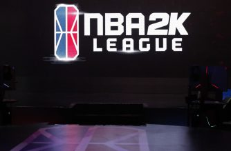 LONG ISLAND CITY, NY - JULY 28: A general view of the NBA 2K League Studio on July 28, 2018 at the NBA 2K League Studio Powered by Intel in Long Island City, New York. NOTE TO USER: User expressly acknowledges and agrees that, by downloading and/or using this photograph, user is consenting to the terms and conditions of the Getty Images License Agreement. Mandatory Copyright Notice: Copyright 2018 NBAE   Alex Nahorniak-Svenski//NBAE via Getty Images/AFP