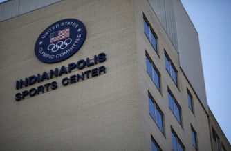 FILE - DECEMBER 05: USA Gymnastics filed for bankruptcy protection under Chapter 11 in U.S. Bankruptcy Courts Southern District of Indiana following the Larry Nassar sexual abuse scandal. INDIANAPOLIS, IN - NOVEMBER 06: The offices of USA Gymnastics and the US Olympic Committee are seen on November 6, 2018 in Indianapolis, Indiana. The committee announced its intention to revoke USA Gymnastics' status as the national governing body in continuing fallout from the Dr. Larry Nassar scandal.   Aaron P. Bernstein/Getty Images/AFP