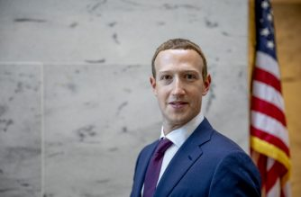 WASHINGTON, DC - SEPTEMBER 19: Facebook founder and CEO Mark Zuckerberg leaves a meeting with Senator John Cornyn (R-TX) in his office on Capitol Hill on September 19, 2019 in Washington, DC. Zuckerberg is making the rounds with various lawmakers in Washington today.   Samuel Corum/Getty Images/AFP