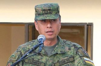 Newly installed AFP chief of staff Lt. Gen. Noel Clement/Philippine Army FB page/