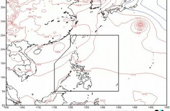 Cloudy skies in parts of PHL as southwest monsoon affects Northern, Central Luzon