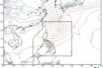M. Manila, parts of Luzon, W. Visayas to have occasional rains due to southwest monsoon