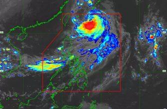 """Nimfa"" intensifies into severe tropical storm"