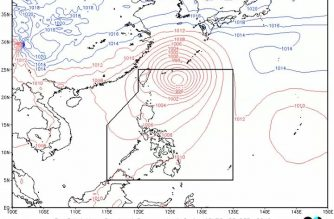 Cloudy skies with scattered rainshowers expected in parts of S. Luzon