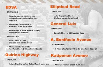 Several roads in M. Manila scheduled to undergo repair, reblocking