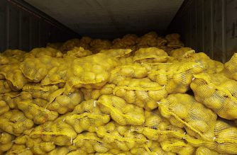 The Bureau of Customs has seized P53 million worth of misdeclared agricultural products. /Madz Moratillo/Eagle News/