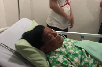 Former Pangasinan Gov. Amado Espino Jr. is now in stable condition in the hospital but needs a blood transfusion, the Pangasinan public information office said./Pangasinan PIO/