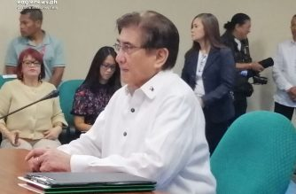 A Commission on Appointments panel on Wednesday, Sep. 11, recommended the confirmation of Gringo Honasan's appointment as DICT chief to the plenary. /Meanne Corvera/Eagle News/