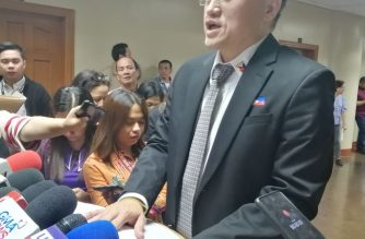 "Senator Bong Go on Wednesday, Sept. 11, said the next BuCor chief should be a ""killer.""/Meanne Corvera/Eagle News/"