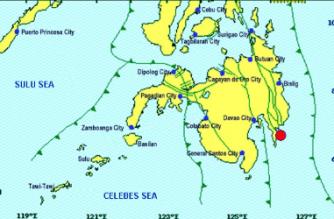 3.5-magnitude quake strikes off Davao Oriental
