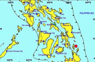 3.0-magnitude quake hits off Dinagat