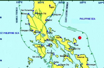 5.0-magnitude quake strikes off Catanduanes