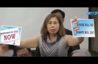 House of Representatives pushed to fast-track passage of bill creating OFW department