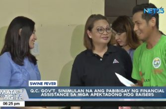 QC gov't starts giving financial assistance to hog raisers affected by ASF