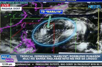 Tropical Depression Marilyn could re-enter after it leaves country, says PAGASA