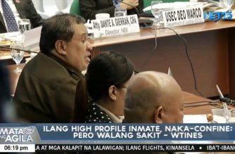 Various money-making schemes by Bucor officials revealed during Senate hearing