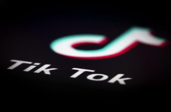 A photo taken on December 14, 2018 in Paris shows the logo of the application TikTok. - TikTok, is a Chinese short-form video-sharing app, which has proved wildly popular this year. (Photo by JOEL SAGET / AFP)