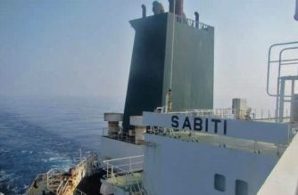 "A handout picture released Iranian State TV IRIB on October 10, 2019, allegedly shows the Iranian crude oil tanker Sabiti sailing in the Red Sea. - An Iranian oil tanker was hit by suspected missile strikes near the Saudi port of Jeddah, causing oil to leak into the Red Sea, the ship's owner said. The National Iranian Tanker Company said in a statement that the hull of the Sabiti was hit by two separate explosions about 100 kilometres (60 miles) off the Saudi coast. (Photo by HO / IRIB TV / AFP) / RESTRICTED TO EDITORIAL USE - MANDATORY CREDIT ""AFP PHOTO / HO / IRIB"" NO MARKETING NO ADVERTISING CAMPAIGNS - DISTRIBUTED AS A SERVICE TO CLIENTS FROM ALTERNATIVE SOURCES, AFP IS NOT RESPONSIBLE FOR ANY DIGITAL ALTERATIONS TO THE PICTURE'S EDITORIAL CONTENT, DATE AND LOCATION WHICH CANNOT BE INDEPENDENTLY VERIFIED  - NO RESALE - NO ACCESS ISRAEL MEDIA/PERSIAN LANGUAGE TV STATIONS/ OUTSIDE IRAN/ STRICTLY NI ACCESS BBC PERSIAN/ VOA PERSIAN/ MANOTO-1 TV/ IRAN INTERNATIONAL /"