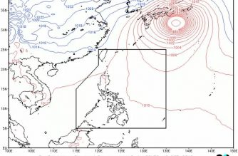 Partly cloudy to cloudy skies, isolated rainshowers to persist over some N. Luzon provinces