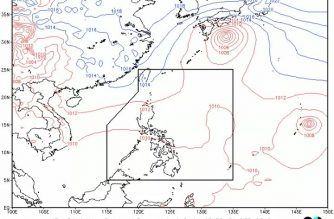 Metro Manila to have cloudy skies, isolated rainshowers