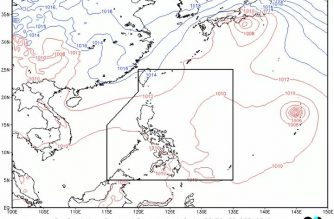 Parts of the country, including M. Manila, to have cloudy skies, isolated rainshowers