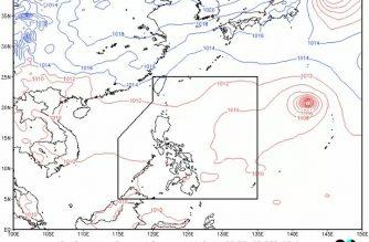 "PAGASA monitors active tropical cyclone off N. Luzon; ""Bualoi"" still outside PAR"