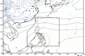 Rainfall advisory hoisted over Palawan due to LPA
