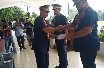 Police Brigadier General Debold Sinas formally took over as NCRPO chief on Wednesday, Oct. 16./NCRPO/