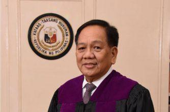 The new Chief Justice of the Supreme Court Diosdado Peralta.  (File photo courtesy SC)