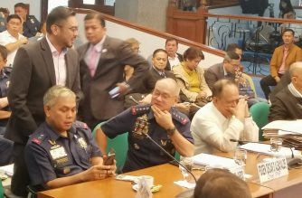 PNP Chief Oscar Albayalde was also in attendance in Thursday's hearing on the Good Conduct Time Allowance law. The probe has expanded to include the recycling of illegal drugs allegedly by some unscrupulous policemen./Meanne Corvera/Eagle News/