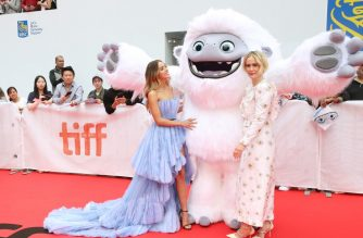 "(FILES) In this file photo taken on September 7, 2019 Chloe Bennet and Sarah Paulson attend the ""Abominable"" premiere during the 2019 Toronto International Film Festival at Roy Thomson Hall  in Toronto, Canada.   (Photo by Phillip Faraone / GETTY IMAGES NORTH AMERICA / AFP)"