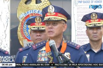 Albayalde to step down as PNP chief on Oct. 29