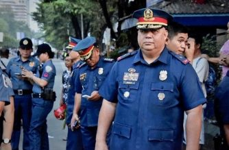 Police Brigadier General Debold Sinas formally took the reins of the NCRPO on Wednesday, Oct. 16./PRO7/