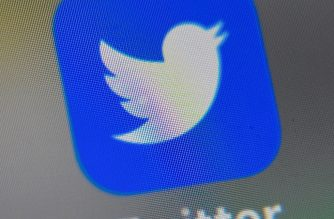 A picture taken on September 4, 2019 shows the logo of the US social networking website Twitter, displayed on a smart-phone screen, in Lille, northern France. (Photo by DENIS CHARLET / AFP)