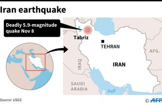UPDATED:Three killed, 20 injured in Iran earthquake: state television