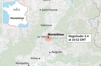 Strong French earthquake injures four