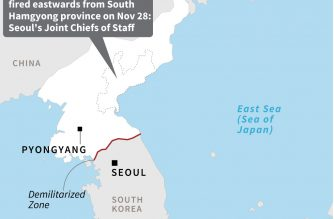 North Korea fires two 'unidentified projectiles'